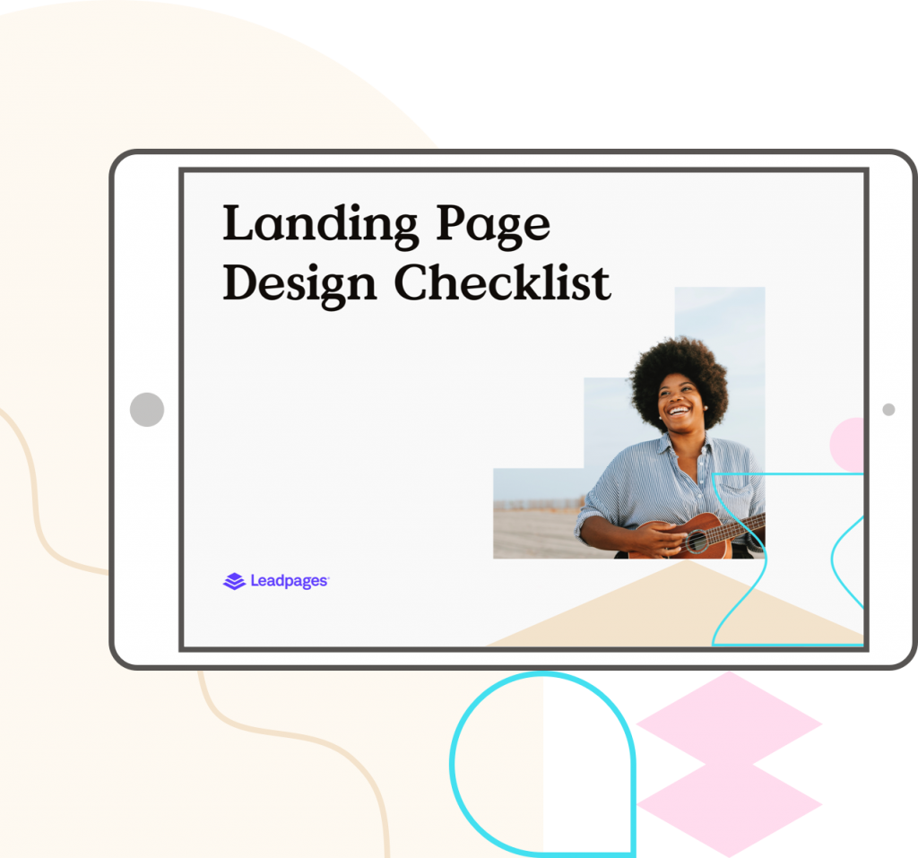 Danh sách kiểm tra thiết kế trang đích từ trang chính