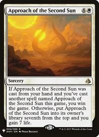 Approach of the Second Sun, Magic, Mystery Booster Cards