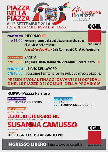 Manifesto Cgil settembre 2014