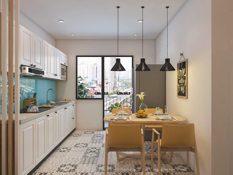 Thiết kế nội thất chung cư đẹp, sang trọng, hiện đại