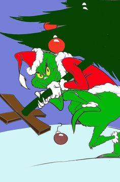ARISTIDE – THE GRINCH WHO WOULD STEAL CHRISTMAS!!
