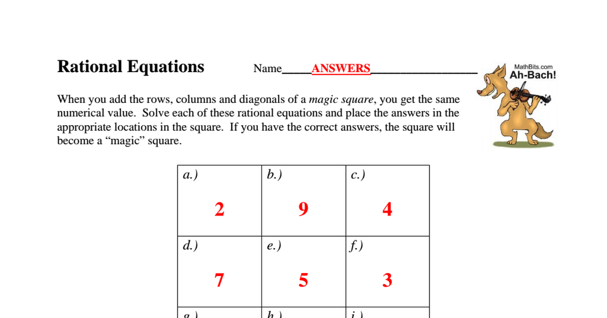 Ah Bach Rational Equations A2T ANSWERS.pdf - Google Drive