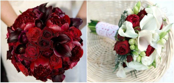 Дизайн букетов для невесты
