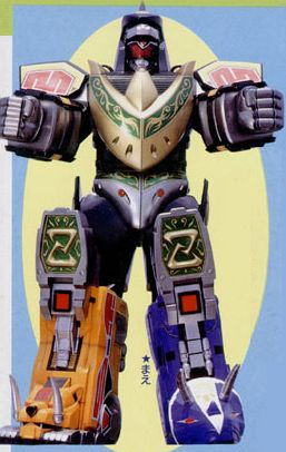 Titan Megazord Dragon Mode