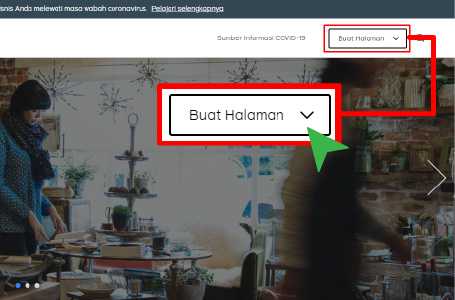 facebook ads tutorial - buat halaman