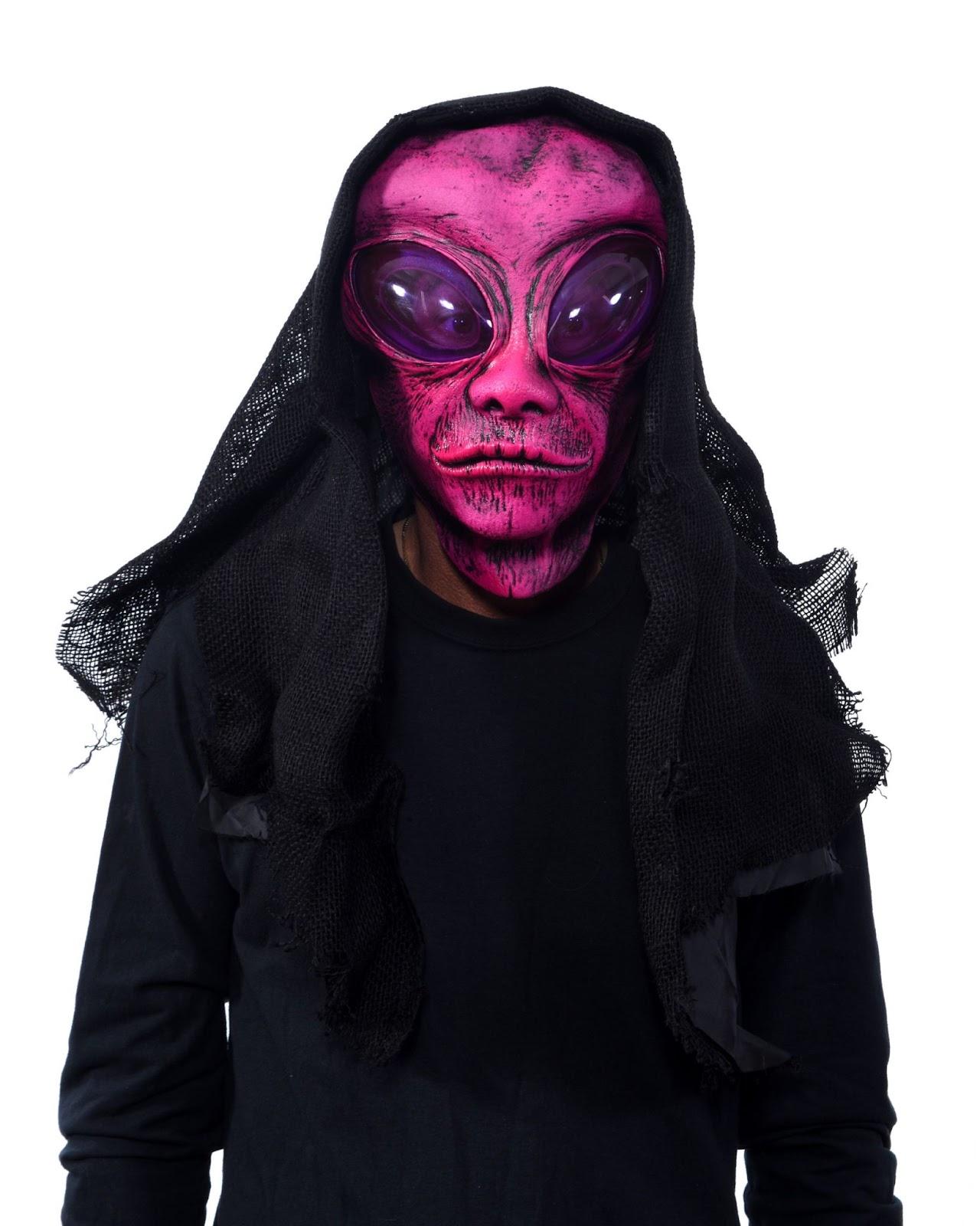 Pink Alien Mask