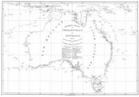 General chart of Terra Australis or Australia, showing the parts explored between 1798 and 1803.