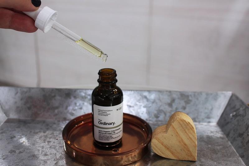 aceite de argán the ordianary textura