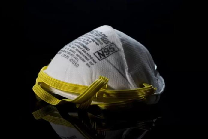 Máscaras N95 tem capacidade de filtrar partículas presentes no ar
