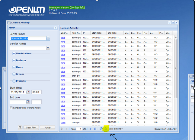 generating custom reports using excel spreadsheet openlm blog