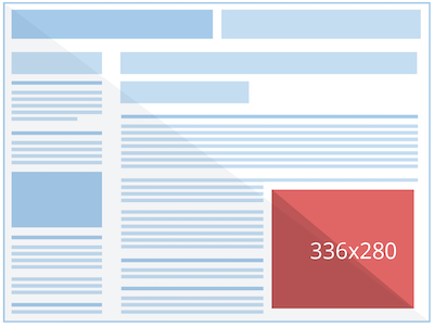 лучшие практики для графических объявлений 336x280