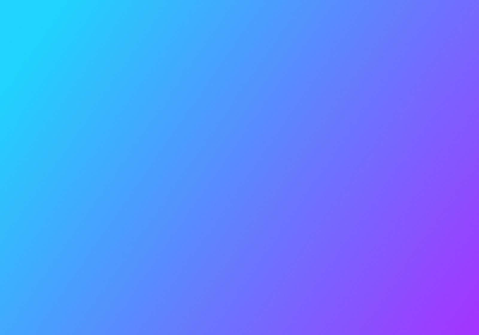 Blue color gradiant that fades into a purple