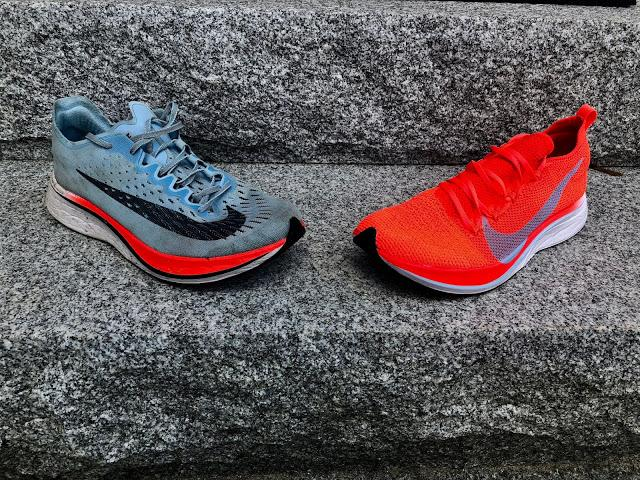the best attitude 97cfb a04bb I say largely unchanged as the new Vaporfly when run side by side one on  each foot with my 130 mile pair is also very slightly firmer from what I  can tell ...