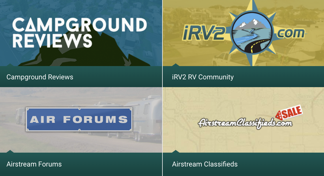 Campground Reviews - iRV2 - AIR forums - Airstream Classifieds