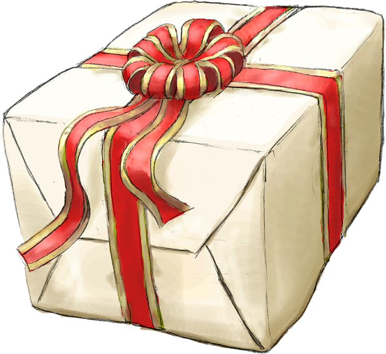 Free illustration: Present, Gift, Wrapped, Cream - Free Image on ...