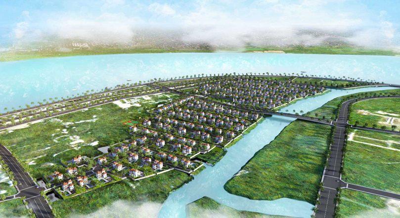 Phối cảnh của dự án gây sự chú ý cho người dân