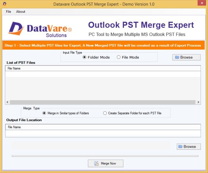 How to Merge Microsoft Outlook PST Files: 5 Easy Methods outlook pst merge datavere pst merge