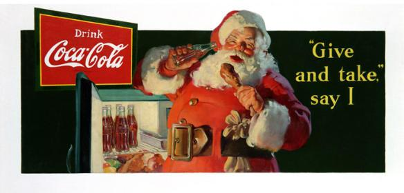 1937 Coca-Cola Holiday Ad