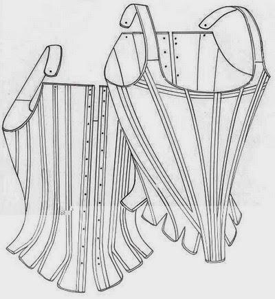 Corset (1660-1680)