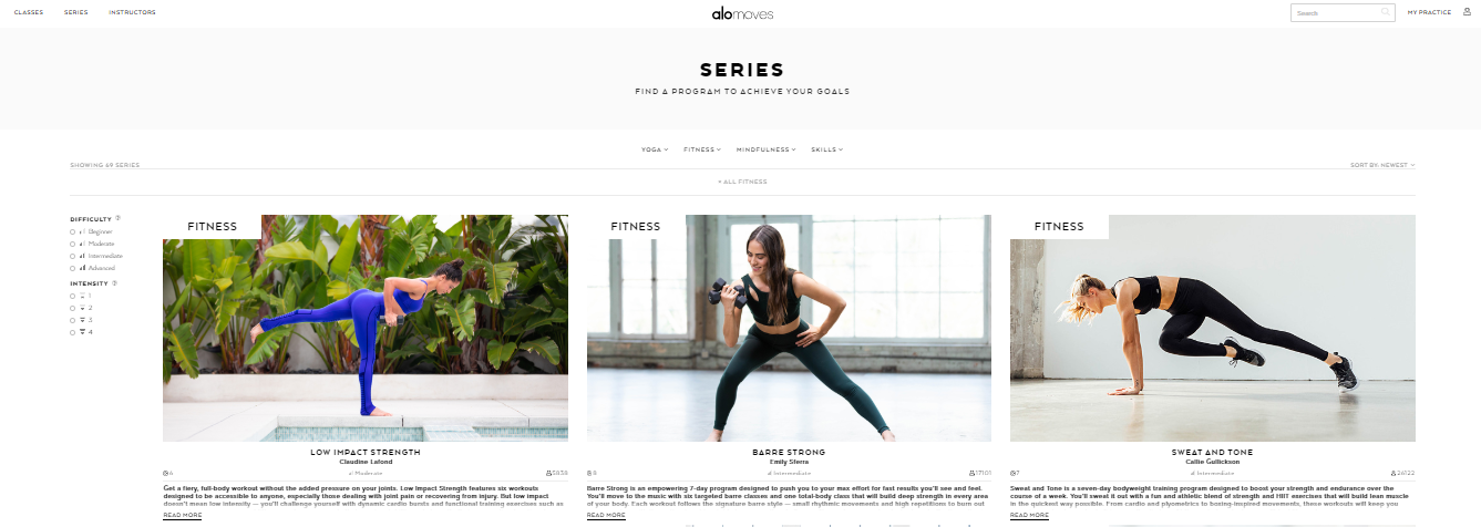 How to Build a Fitness Website: video tutorials