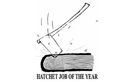 ANOTHER MIAMI HERALD – CHARLES HATCHET JOB – WINS 24 PINOCCHIO'S