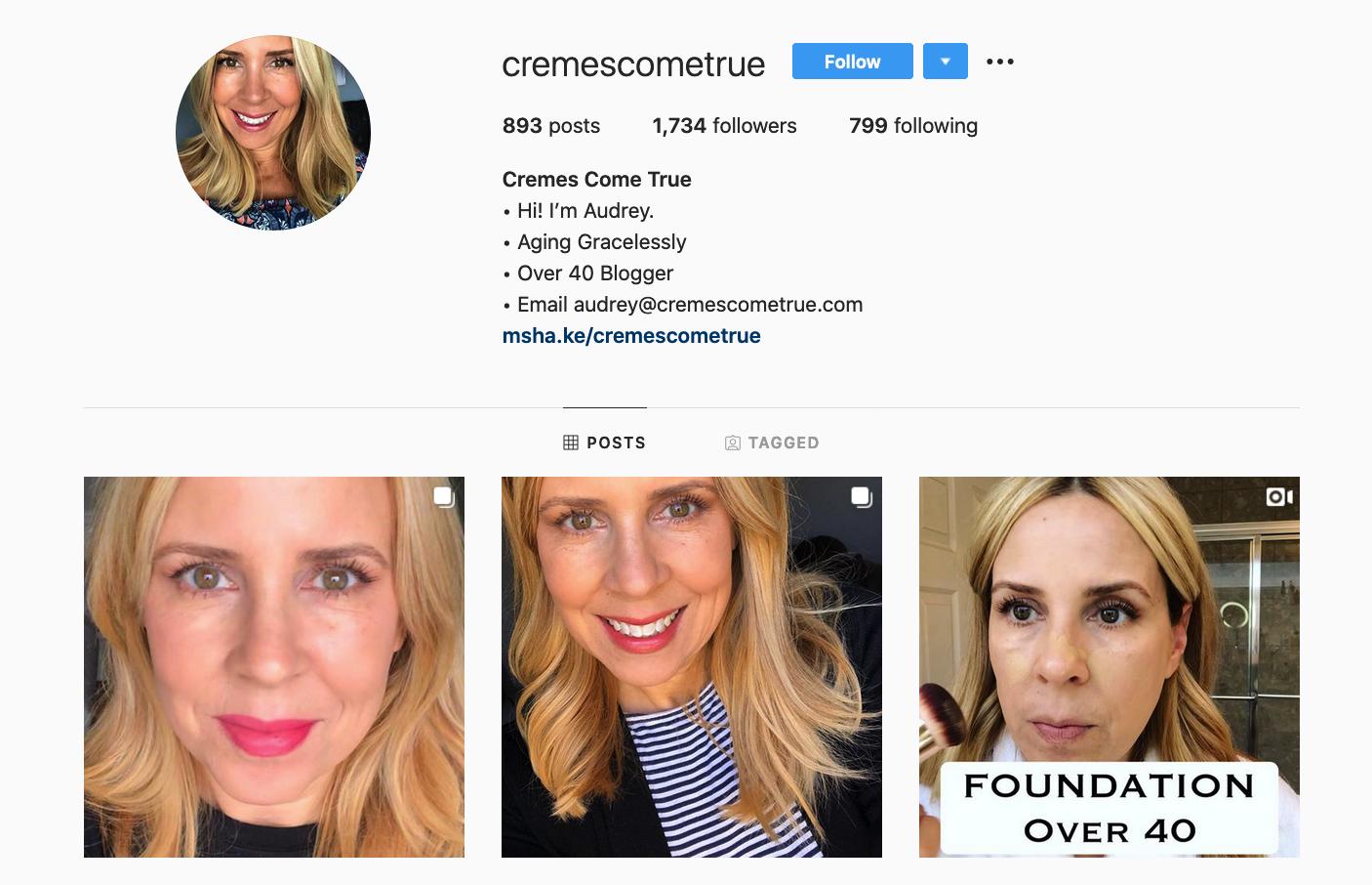 Audrey Stefanik | Makeup and Skincare Influencer