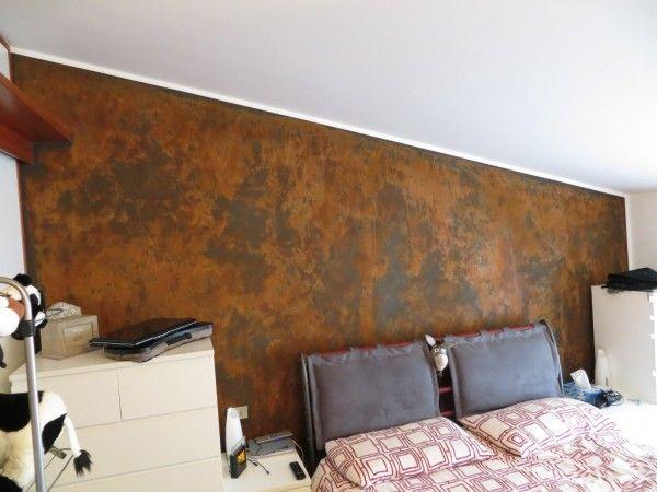 Sơn hiệu ứng Waldo - hiệu ứng rỉ sét Patina và khu vực phòng ngủ độc đáo