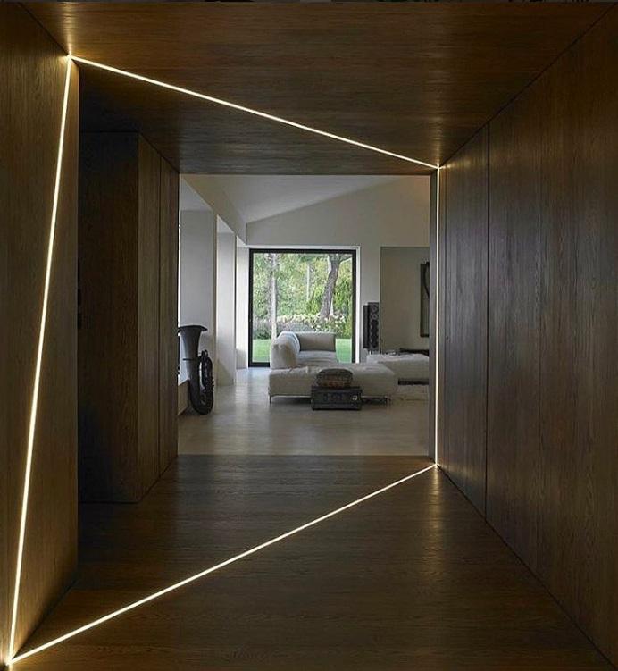 Iluminación LED, 20 ideas originales para espacios interiores | Inarquia