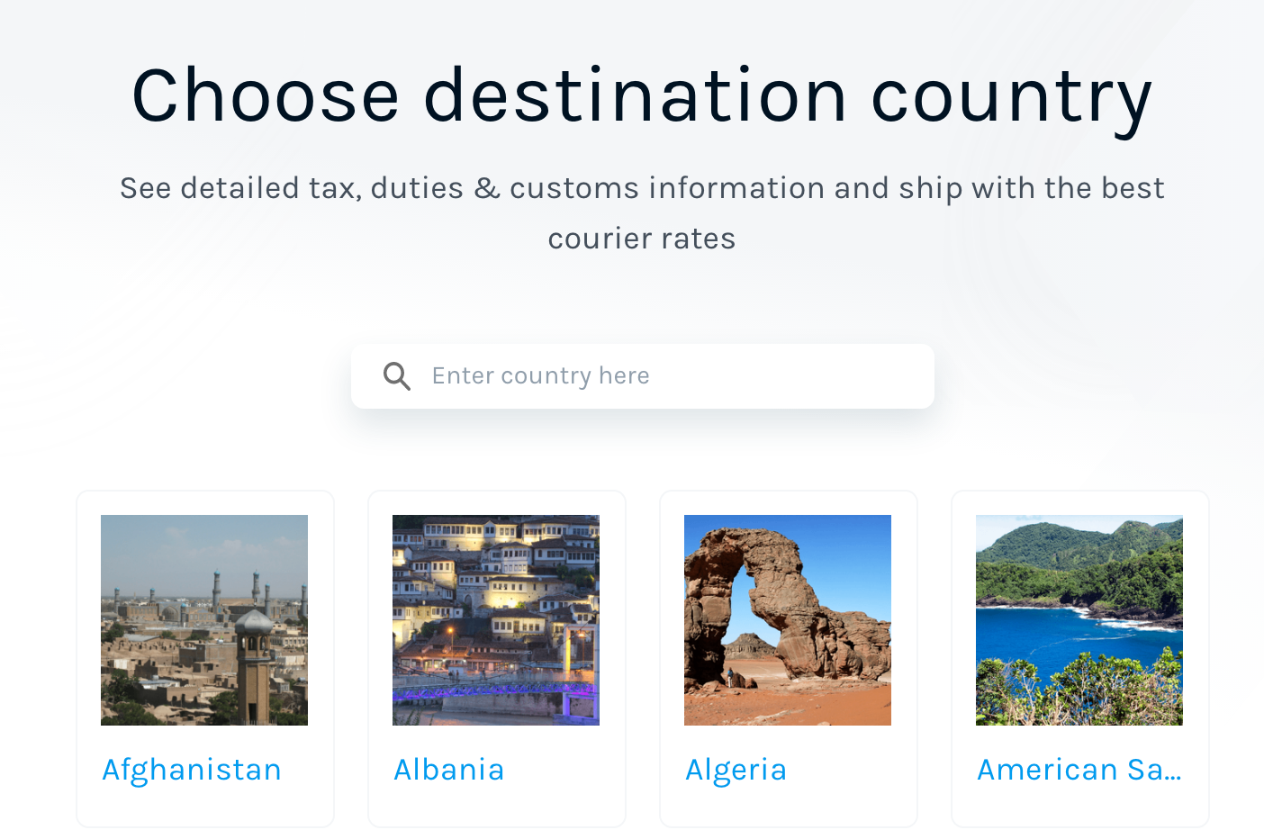 customs paperwork per country guides