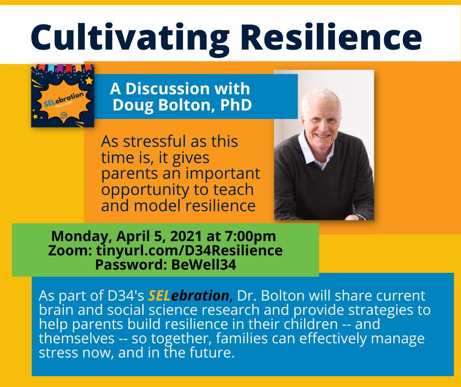 Cultivating Resilience - Doug Bolton, PhD