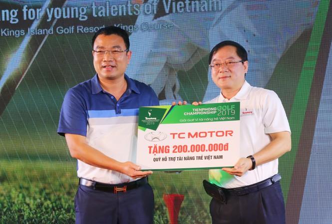TC Motor tặng quỹ Vì tài năng trẻ Việt Nam 200 triệu đồng