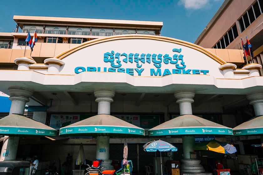 Orussey Market.