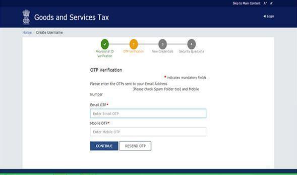 GST registration steps - 4