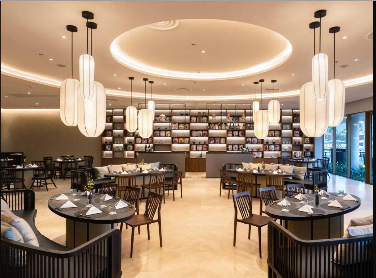 Nhà hàng Asiana phong cách Nhật Bản giữa ALMA Timeshare