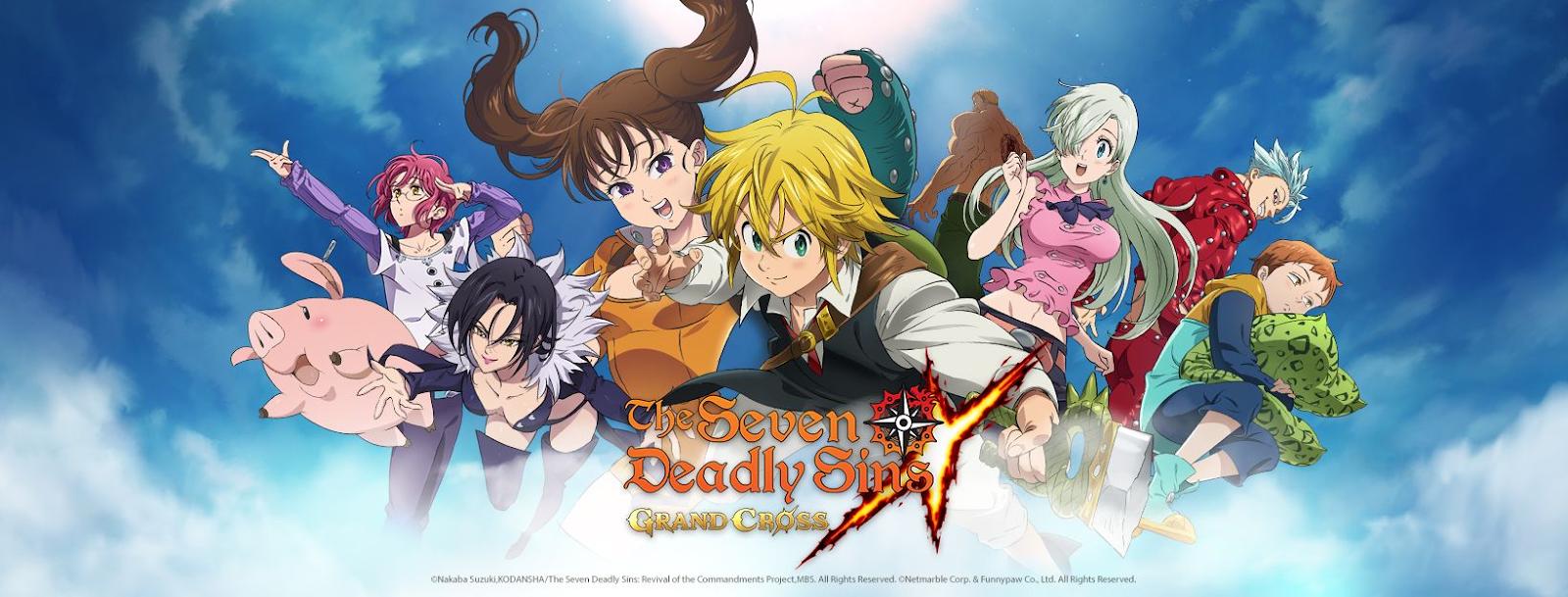 Tin vui cho cộng đồng yêu thích Manga Việt, Thất Hình Đại Tội: Grand Cross đã xác nhận thời điểm ra mắt chính thức trên Mobile - Ảnh 1.