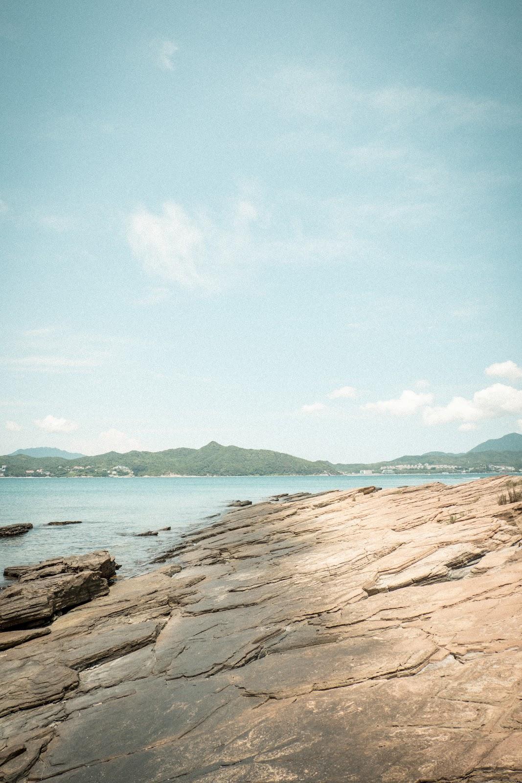 東平洲的頁岩