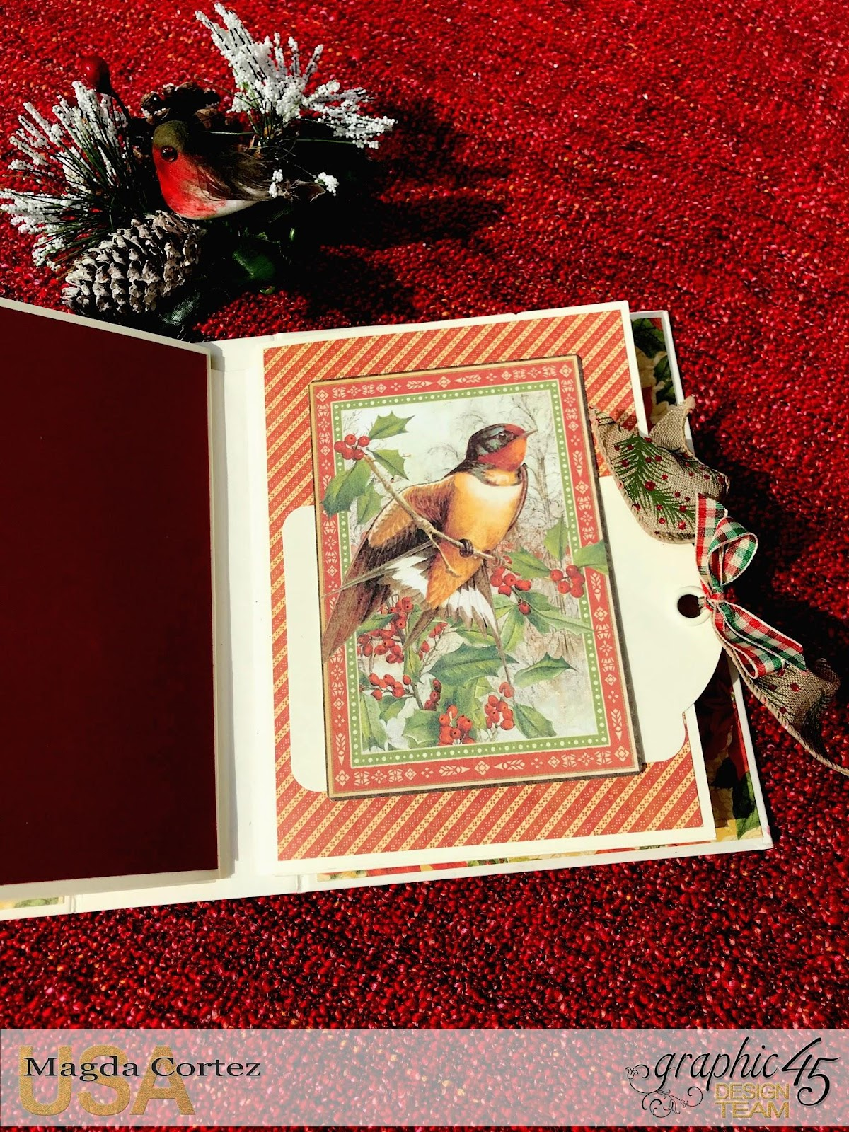 Believe Mini Album,Winter Wonderland By Magda Cortez, Product by Graphic 45, Photo 04 of 11 .jpg