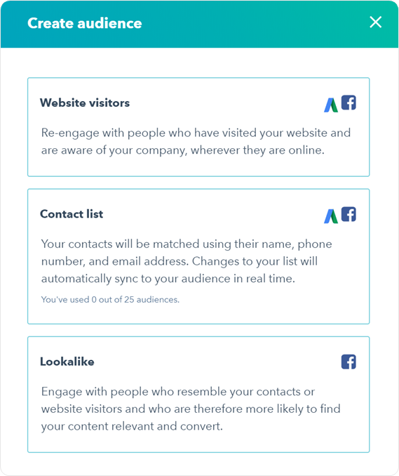Now Live] Google Ads Audiences in HubSpot