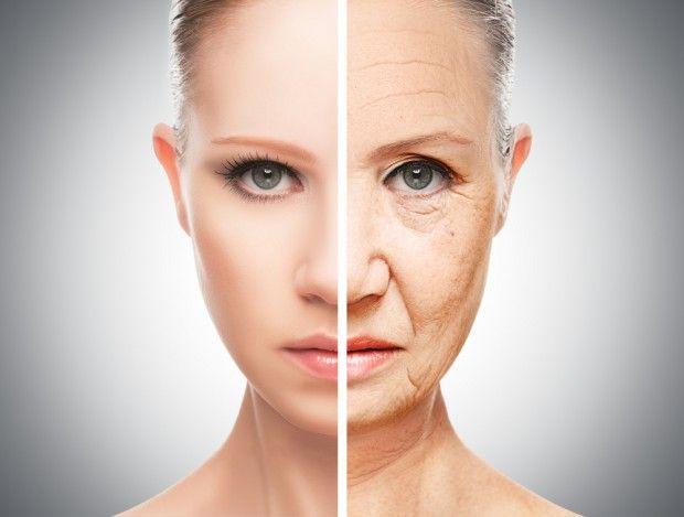 Сравнение молодого и зрелого лица