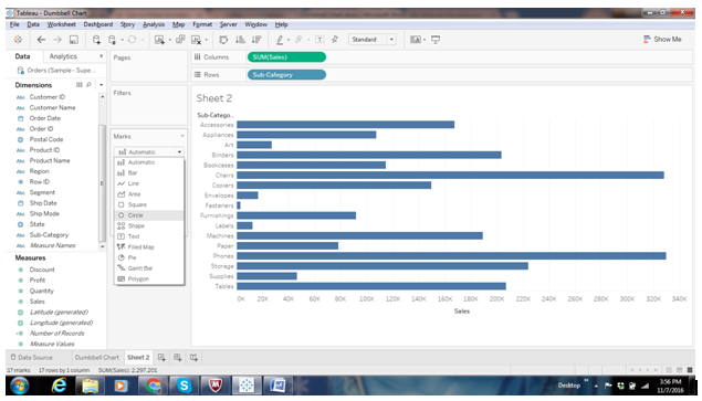 Dumbbell Chart in Tableau 29