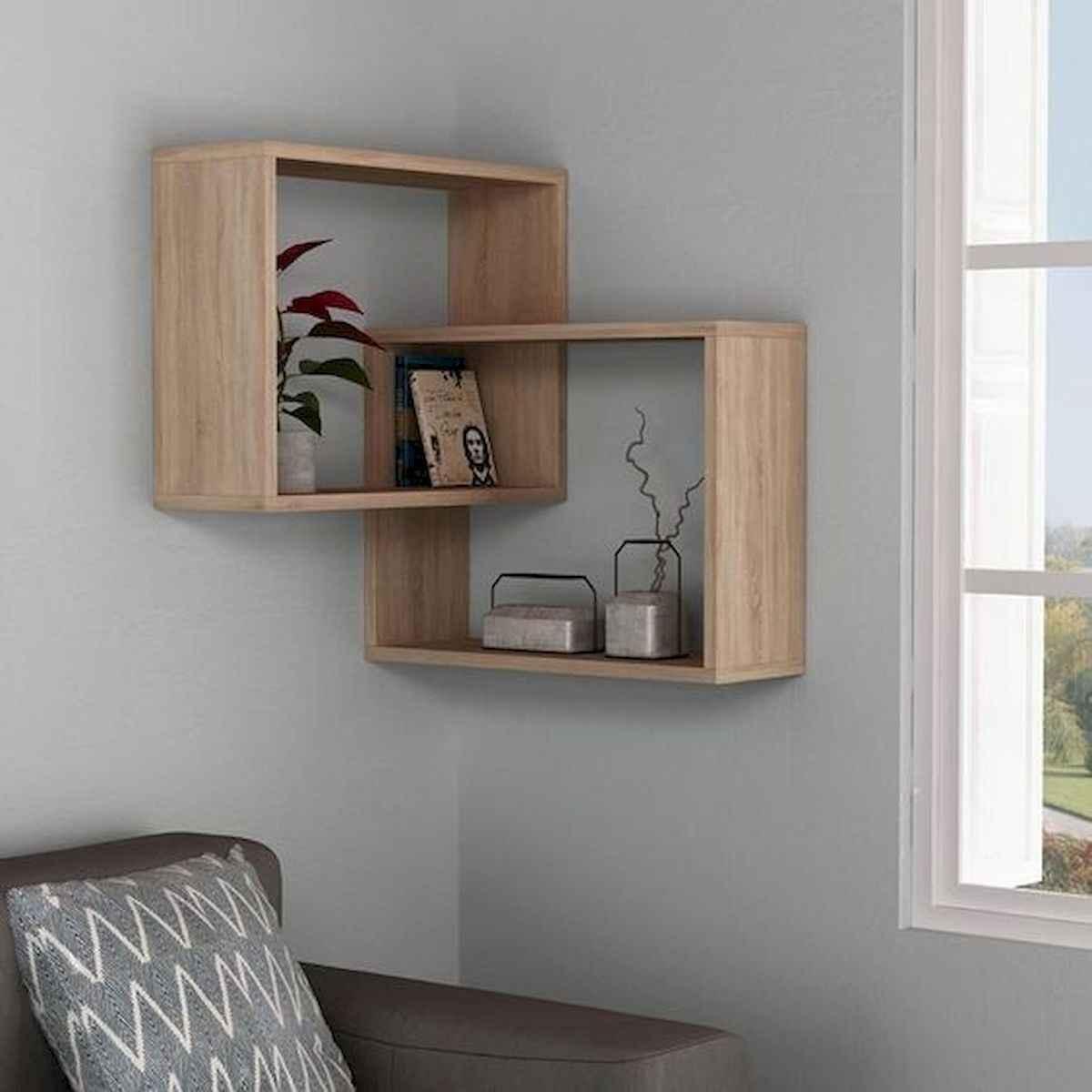 rak dinding untuk ruang tamu