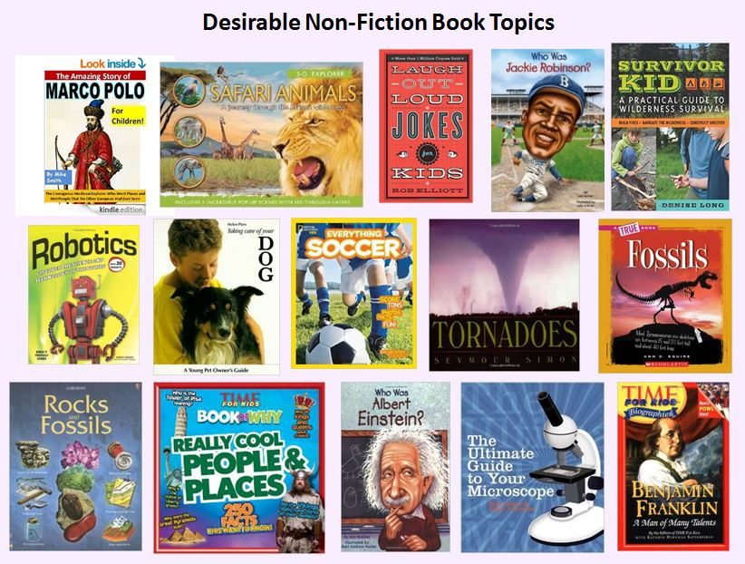 Image result for image of nonfiction books