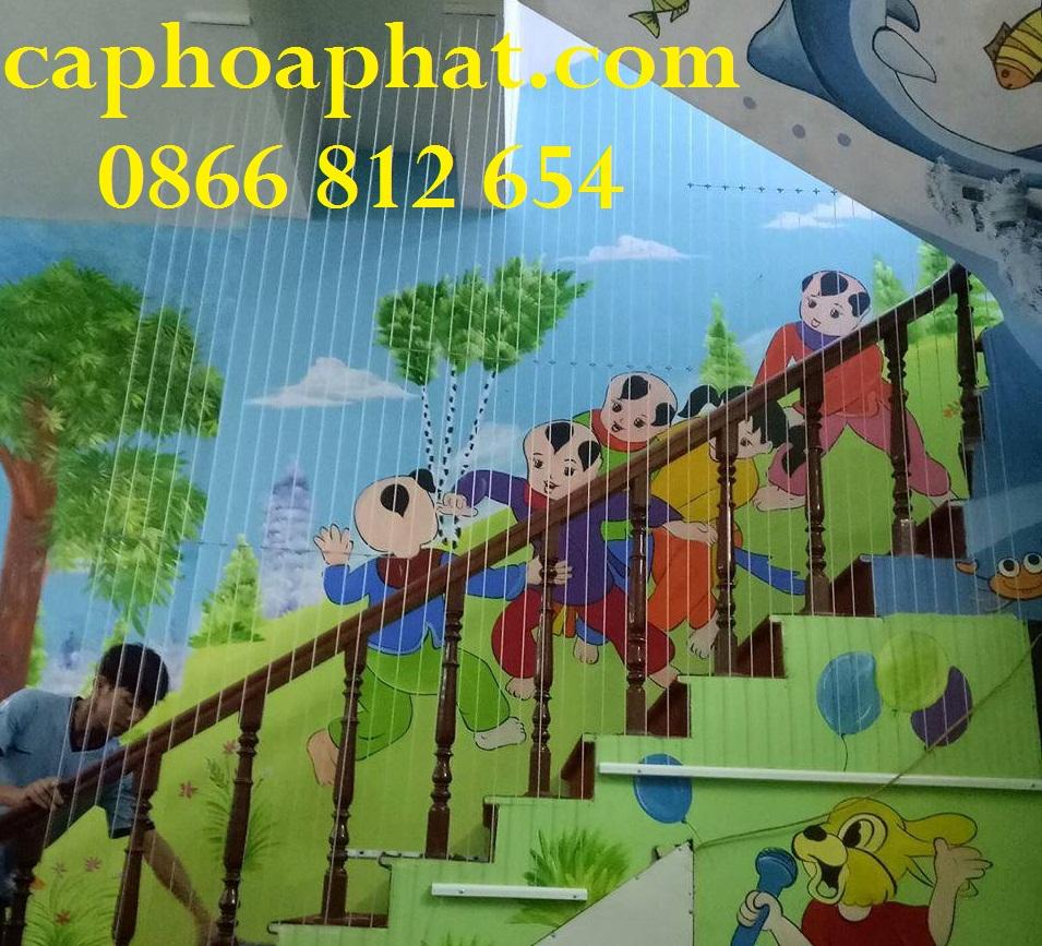Lưới an toàn trường học Hoà Phát