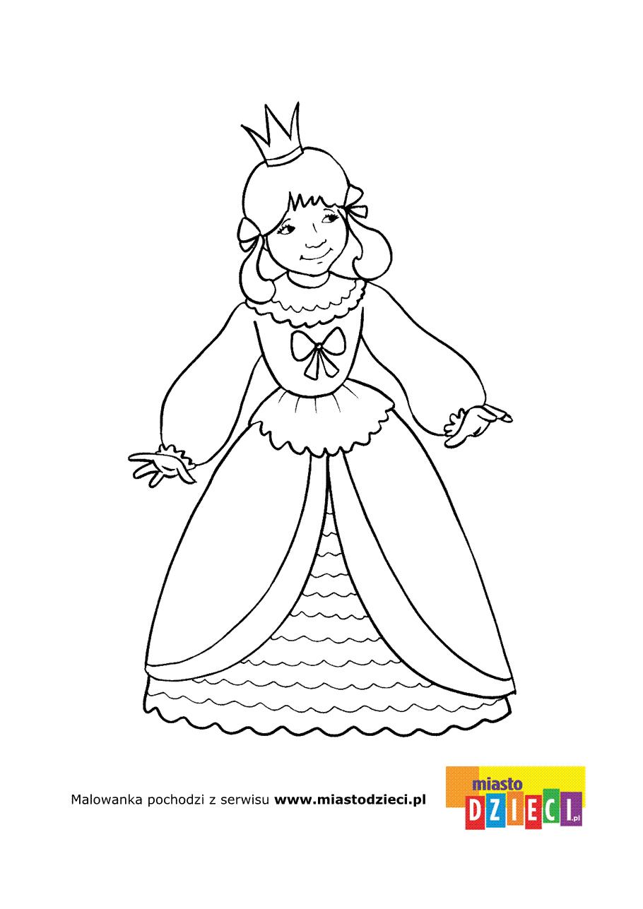 Kolorowanka – Królewna VI