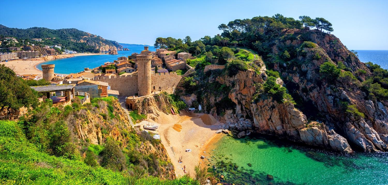 Tossa de Mar en Cataluña