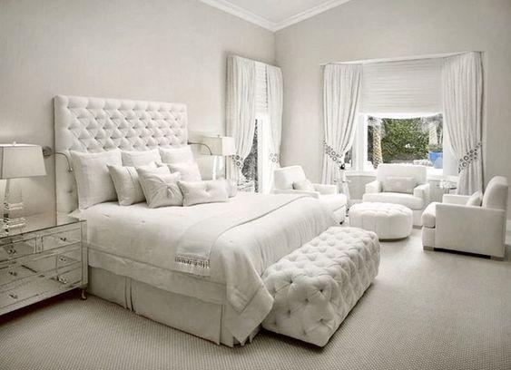 All White Bedroom Set