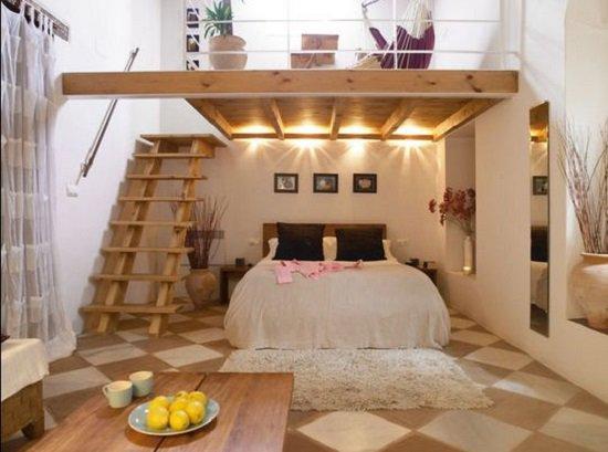 Phòng ngủ có gác lửng đẹp 6