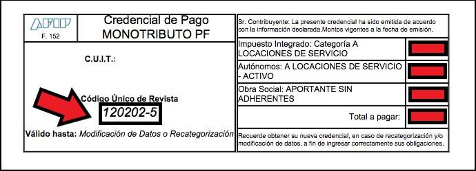 Credencial de Pago
