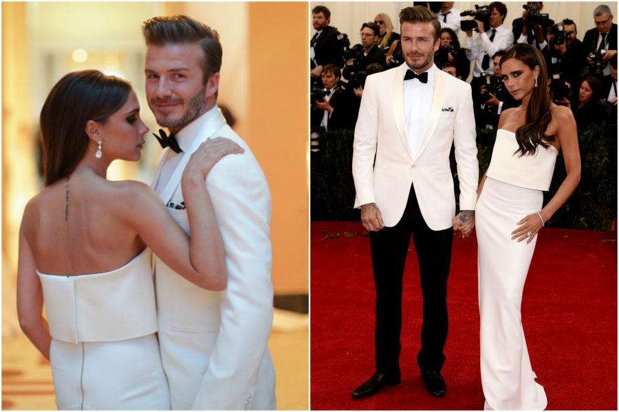 When David and Victoria Beckham