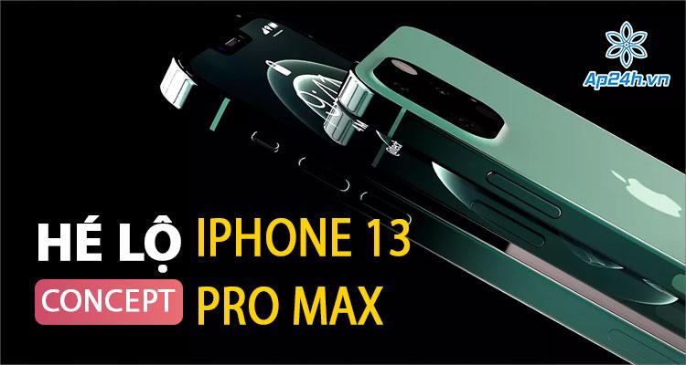 Video Concept iPhone 13 Pro Max mới nhất